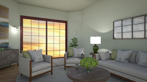 greennn - Living room  - by elhamsal24