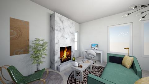 olive room - Bedroom  - by kaaitlynn
