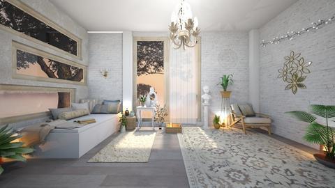 Calm Bedroom - Bedroom  - by Dragonets of Destiny