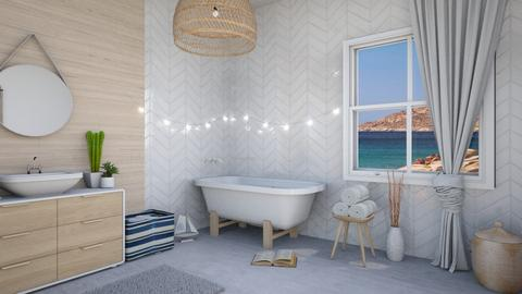 nautical bathroom - Bedroom  - by elia07