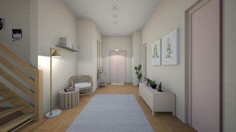 hallway - by rebeca_scmoraes