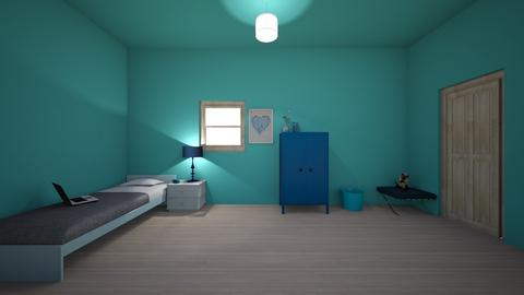 blue island - Classic - Kids room - by Licorice123