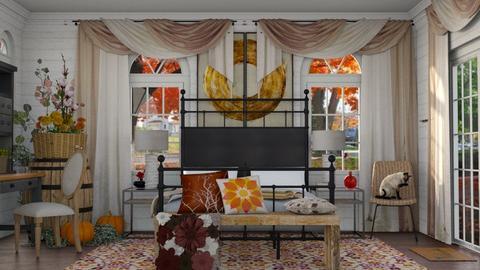 Autumn Bedroom - Bedroom  - by Localzen