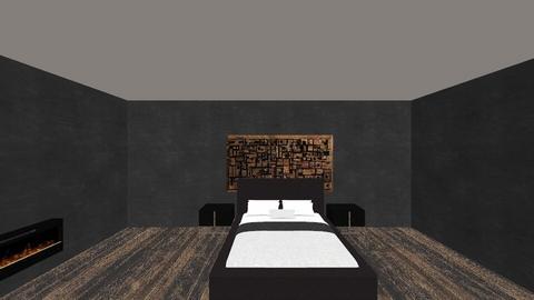 dark - Bedroom - by EllaNaznin