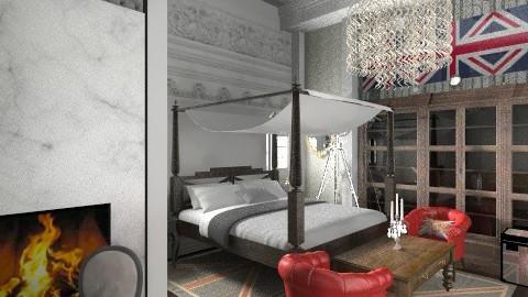 chateau - Vintage - Bedroom  - by aduropluvia