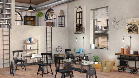 Old Factory Office - Office - by Sally Simpson
