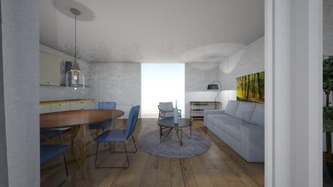 Island brygge2 - Living room  - by Orcun Kuyucuoglu