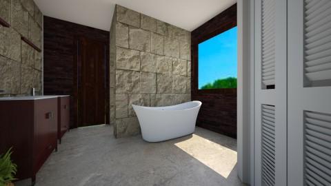 Master Bath - Glamour - Bathroom  - by lorinafranklin