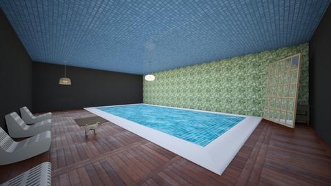 pool - Vintage - by BastienBeneteau