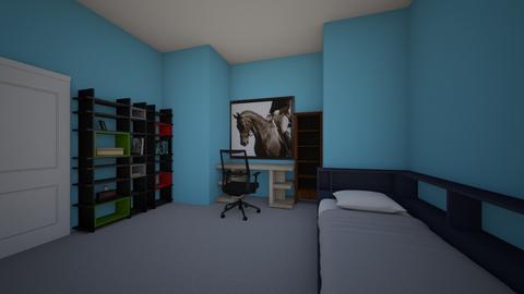 home school room - Bedroom  - by Abipru9469