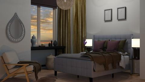 Feng Shui Bedroom - by mikaelahs