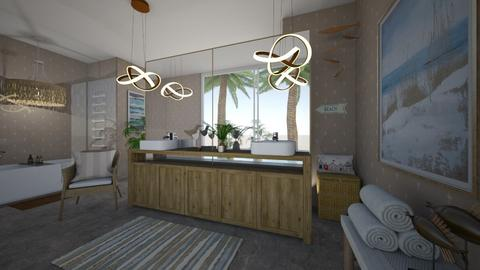 island bath - Bathroom  - by hillygabe