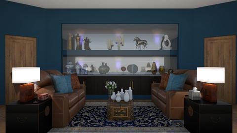 Matilda's Travel Themed Living Room - by Matilda de Dappere