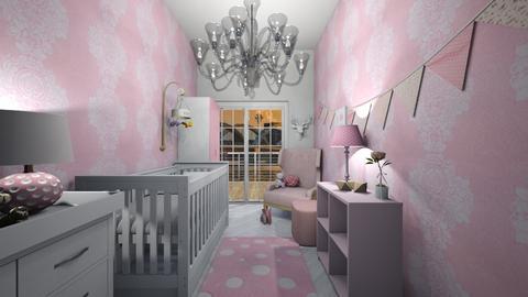 Baby Girl  - Kids room  - by nicolaswiggins