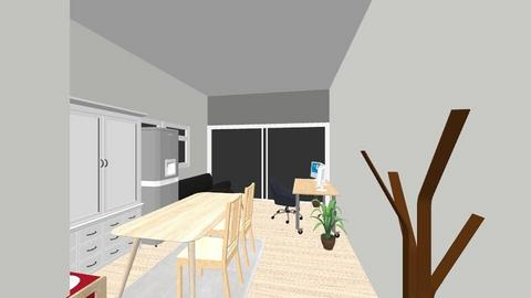 room1 - Modern - Living room  - by jeshii