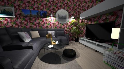 please like - Living room - by Alexis and Natalie