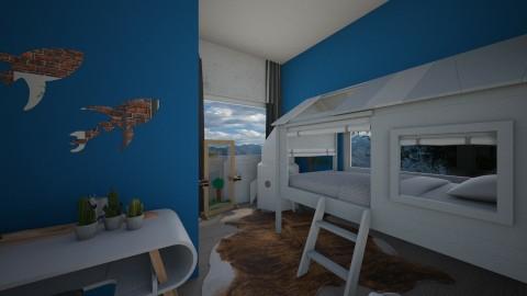 kids bedroom 1 - by elvievandenbroek
