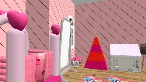 Carilena Inacio - Bedroom  - by lilg129class