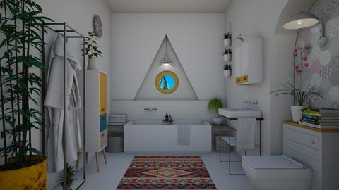 Eclectic Bathroom - Eclectic - Bathroom  - by Nicky West