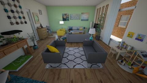 family living room 2019 - Living room - by Lovatic24