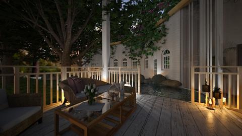 Lovely Summer Porch - Vintage - Garden  - by ItsKalaniOfficial