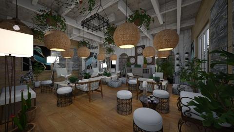 Cafe_Jungle_Africa - Classic - Living room  - by Nikos Tsokos