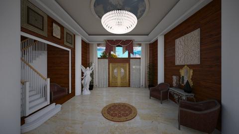 Foyer Rotunda - Modern - by alonatech_2nd