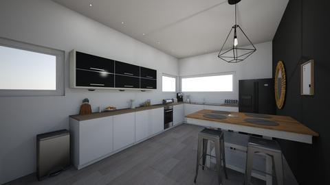 ma maison  - Kitchen - by Ines 66