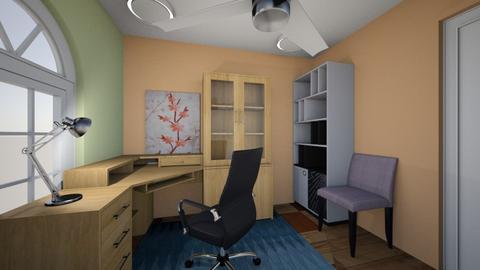 office room - Office  - by MaKayla R Dance