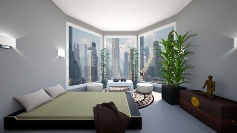 Jedi Master Quarters - Bedroom - by SammyJPili