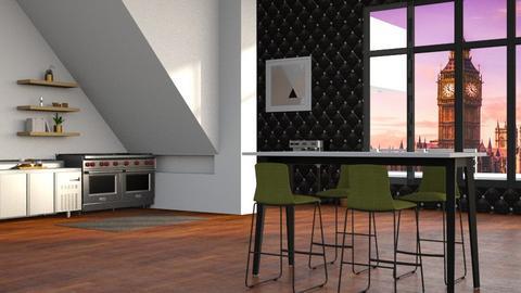 Dream Kitchen - Modern - Kitchen  - by matildabeast