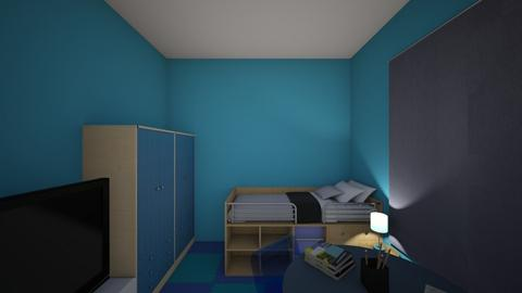 bedroom for boys - Bedroom  - by firdaus123