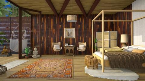 Thai Resort - Bedroom  - by DeborahArmelin