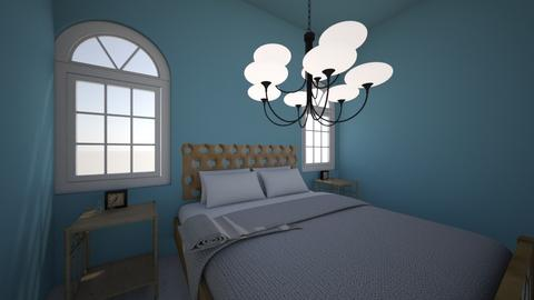 blue bed room - by jjmmtseay06