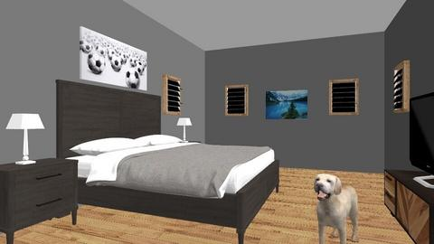 Ethans room  - Modern - Bedroom - by MiDormitorio