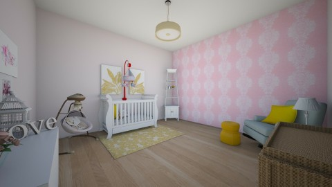 Fit for a princess - Classic - Kids room  - by Katiemichellegilbert