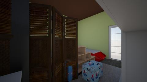 Karas Design Challenge2 - Kids room - by Karamello89