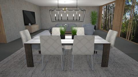 open hous - Living room  - by melcampusano