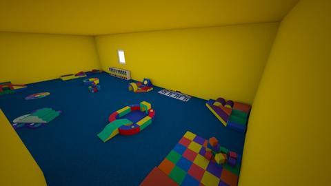 sala de psicomotricidad - Kids room  - by estheresc