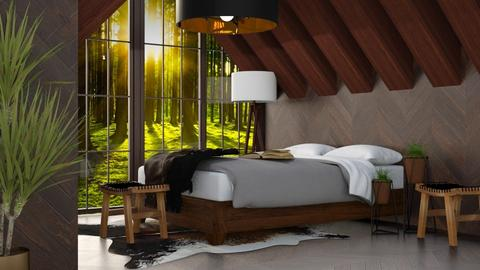 Forest Bedroom - Country - Bedroom - by millerfam