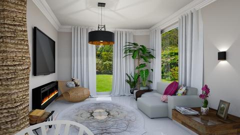 Nature in livingroom - Rustic - Living room - by MC Design