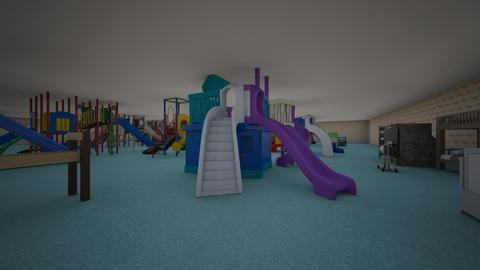 plac zbaw i nocowanie - Kids room  - by szczeniaczek