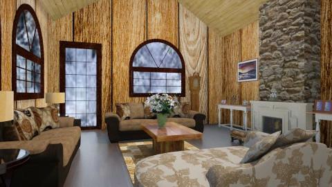 Cabana - Living room - by Carla Braga
