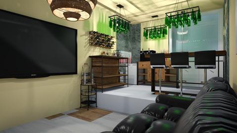Apartment Minibar - Modern - by hi my name is bob