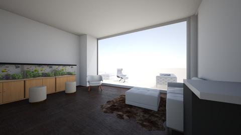 Xindian LRoom Aquarium - Living room  - by ztay