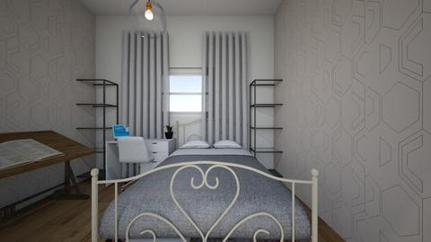 habitacion nicole - Bedroom  - by Nico1515