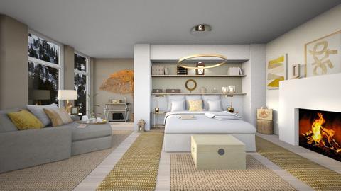 Oscar - Bedroom  - by Ferplace