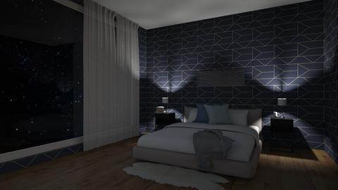 Calm Bedroom - Modern - Bedroom  - by CherryMilkshake