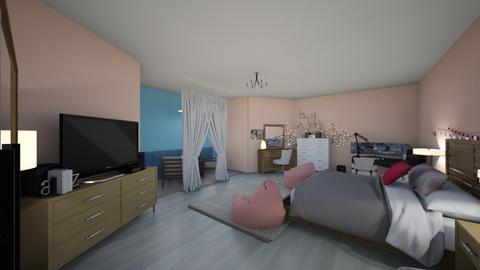 My Ideal Room - Feminine - Living room  - by mbarragan21
