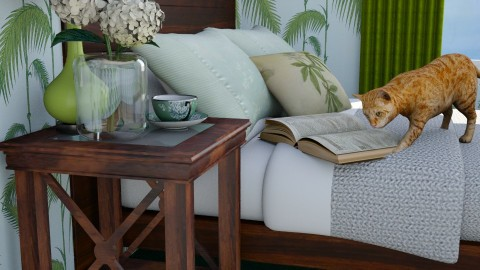 close leaf - Classic - Bedroom  - by donella